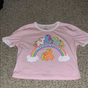 My Little Pony crop top size small